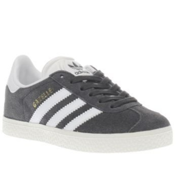 separation shoes 45834 1b4f7 adidas Other - ADIDAS Originals Kids Gazelle Kids Gray Suede